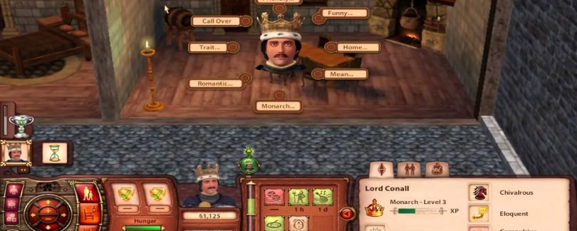 Video Game Review The Sims Medieval